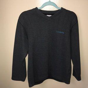 Columbia V neck sweater